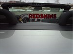 Inlayed Redskins Logo Cadillac XLR