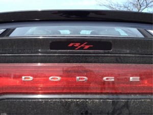 Dodge Charger Third Brake Light Decal