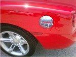 SSR Lettered Gas Cap Door Decal Chrome or Balck