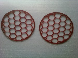 Honeycomb Solstice Backup Light Covers