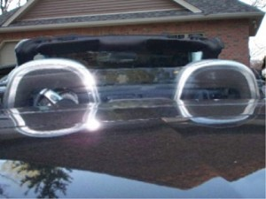 Clear Chevy SSR Windscreen