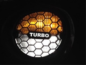 Solstice Honeycomb Fog Light Cover With Custom Script