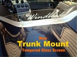 Trunk Mount Clear Tempered Glass Windscreen Solstice Sky Opel GT