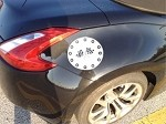 Nissan 370Z Gas Cap Decal With Graphics