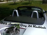 BMW Z4 Tinted Acrylic Windscreen