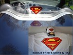 Inlaid Superman Logo Windblade