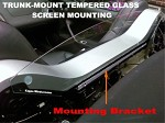 Solstice, Sky, Opel GT Trunk-Mount Tempered Glass Mounting